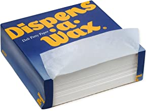 Dispens-A-Wax, 801200, White, Deli Patty Paper, 6