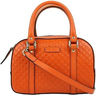 638122d77b4 Gucci Women s Orange Guccissima Leather Small Crossbody Bag 510289 7527