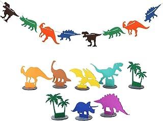 Kinder Geburtstag Party Dino Thema Xdffy Dinosaurier Happy Birthday Banner Partyzubeh/ör Dekoration
