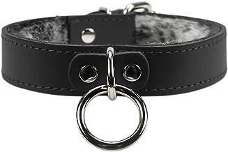 VP Leather Kaytlyn Choker Full Grain Leather Handmade Collar O Ring