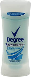 Degree Deodorant Womens Motion Sense Shower Clean Invisible Solid 2.6oz