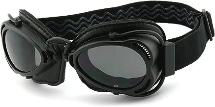 Helly Bikereyes Sidewinder Motorcycle Goggles Padded Smoke