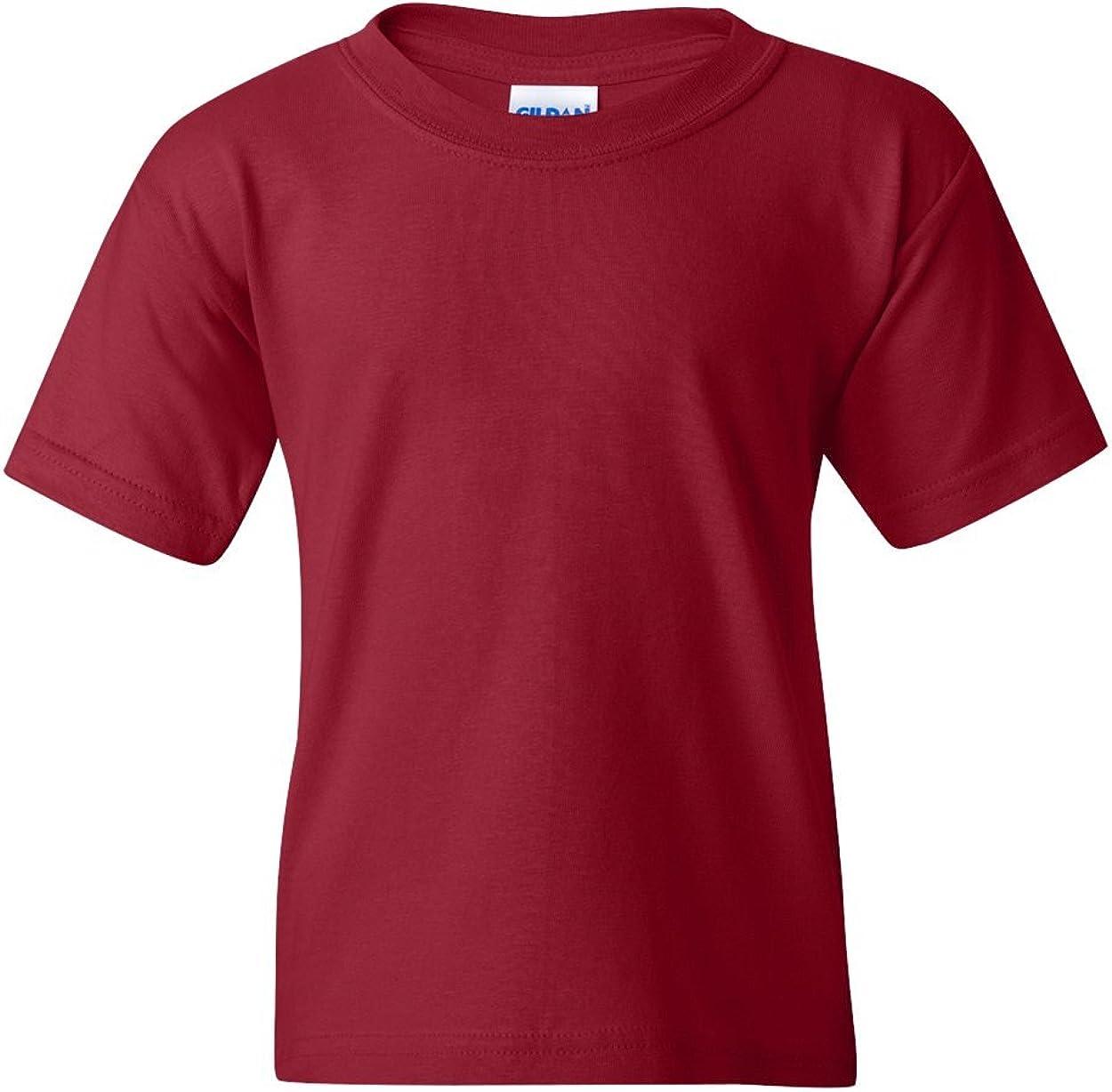 Gildan G500B Heavy CottonTM Youth 5.3 oz. T-Shirt - GARNET - S