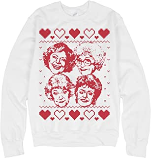 Ugly Xmas Golden Girls: Unisex Gildan Crewneck Sweatshirt