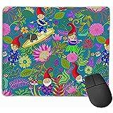 Hawaiische Gartenzwerge lustige Mausunterlage Mousepad Spiel-Mausunterlagen