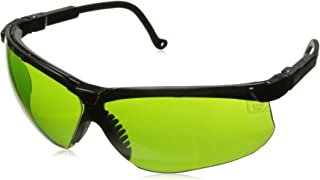 Uvex S3206 Genesis Safety Eyewear, Black Frame, Shade 2.0 Infra-Dura Ultra-Dura Hardcoat Lens