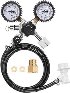 XIAOFANG Réservoirs PSI Pression de bière Testeur de bière Bière CO2 Keg Régulateur de sécurité de la Pression de sécurité...