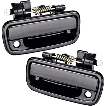 Otois Exterior Chrome Door Handle Front Passenger Right Compatible with Toyota Tacoma 1995 2004