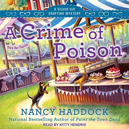 A Crime of Poison audiobook cover art