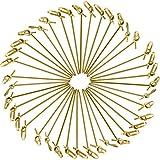 Jovitec Palillos de Cóctel de Bambú, 300 Piezas 4,1 Pulgadas de Pinchos...