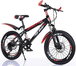 FXPCYGZ Bicicleta Frenos de Doble Disco Velocidad Bicicleta de montaña Coche para Estudiantes Adultos Hombres y Mujeres, 22 Pulgadas Marco de Acero de Alto Carbono Neumáticos de Goma