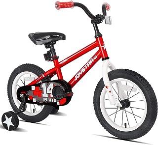JOYSTAR Pluto Kids Bike with Training Wheels for 12 14 16 18 inch Bike, Kickstand and Training Wheels for 18 inch Bike