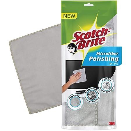Scotch-Brite Microfiber Polishing Wipe (Grey) (SB MF Polishing wipe Rs 149)