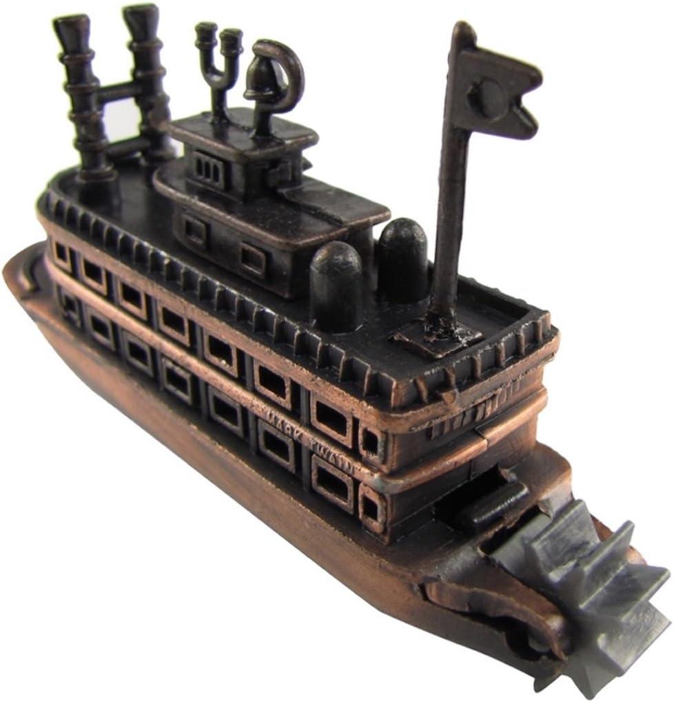 Opening large New sales release sale Treasure Gurus Die Cast Sharpener Paddle Boat Pencil