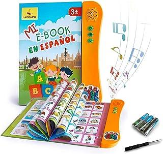 Libro Electrónico de Sonido en Español Juguetes de Aprendizaje para Bebés Niños Máquinas de Lectura para niños 3-5 Años Ap...
