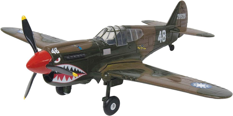 Motormax, 76369 Maßstab 1  18 p-40 Warhawk spritzgußmodell, grün B005F5PLIQ Bevorzugtes Material  | Ein Gleichgewicht zwischen Zähigkeit und Härte