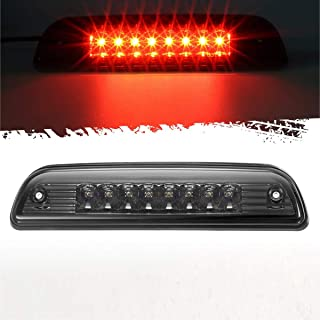 Partsam High Mount Stop Light Red Led Third 3rd Brake Light Replacement for Tacoma 1995 to 2016 Pickup Rear Cab Center Mou...