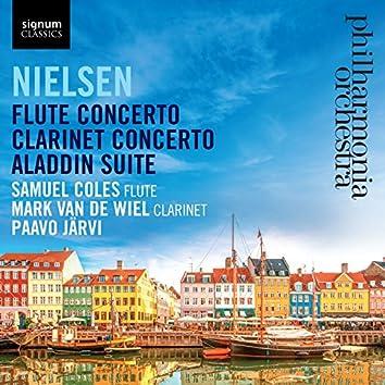 Nielsen: Flute Concerto / Clarinet Concerto / Aladdin Suite