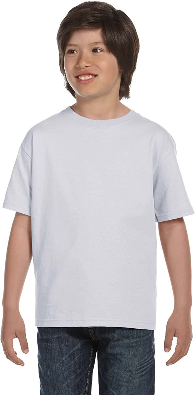 By Hanes Hanes Youth 52 Oz ComfortSoft Cotton T-Shirt - Ash - XL - (Style # 5480 - Original Label)