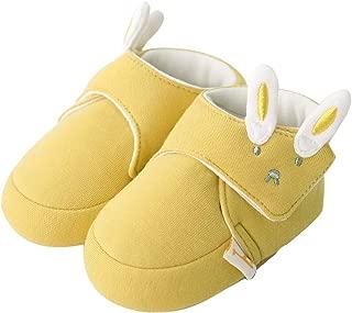 pureborn Newborn Unisex Baby Booties Cartoon Anti-Slip Cotton Shoes