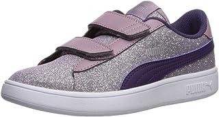 PUMA Unisex Kids' Smash V2 Velcro Sneaker