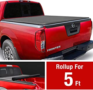 MaxMate Soft Roll Up Truck Bed Tonneau Cover Compatible with 2005-2021 Nissan Frontier;..