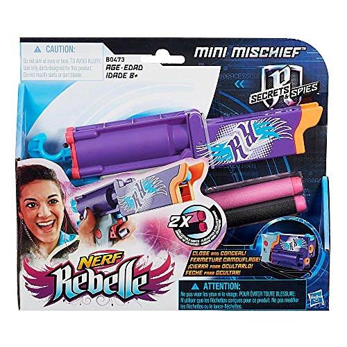 Nerf Rebelle Secrets & Spies Mini Mischief Blaster
