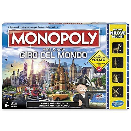 Monopoly - Giro del Mondo, B2348456
