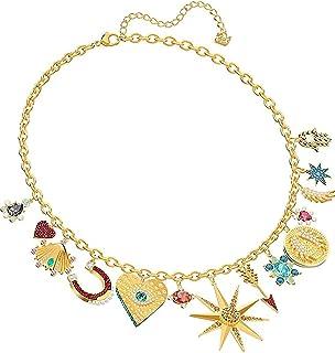 Swarovski 5451263 Gold Lucky Goddess Charms Women's Necklace