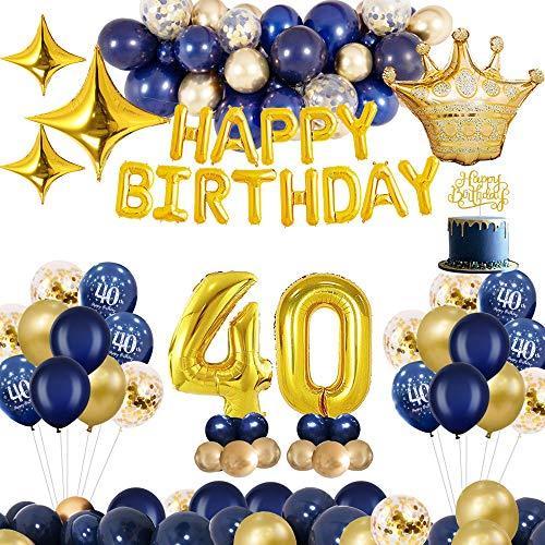 Auf der Suche nach Dekoration für eine 40. Geburtstagsfeier? – Hier haben Sie die Auswahl der Bestseller.