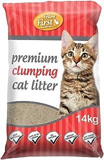 Feline First 50465 Premium Clumping Cat Litter 14 kg