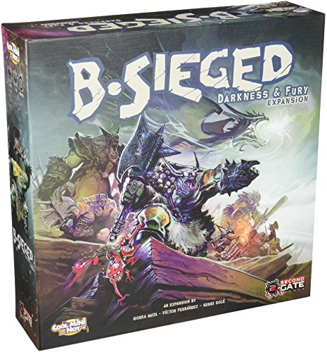 Cool Mini or Not CMNBSG002 B-Sieged Darkness und Fury Brettspiel (englische Version)