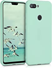 kwmobile TPU Case Compatible with Xiaomi Mi 8 Lite - Case Soft Thin Slim Smooth Flexible Phone Cover - Mint Matte