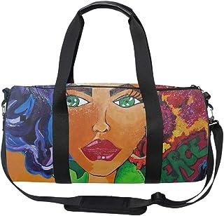 Travel Luggage Duffle Bag Lightweight Portable Handbag Swimming Duck Large Capacity Waterproof Foldable Storage Tote
