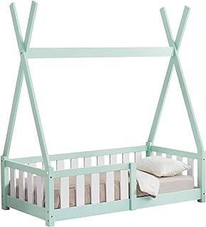en.casa Cama para niños pequeños Cama Infantil 140x70cm