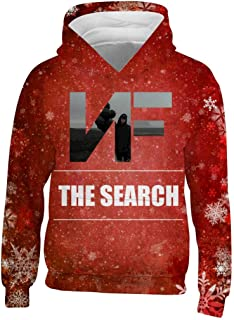 The Search Rapper_NF Young Kids Boys Girls Big Pockets Hoodies Pullover Hooded Sweatshirt