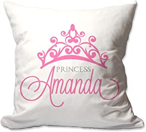 Pattern Pop Personalized Princess Throw Pillow