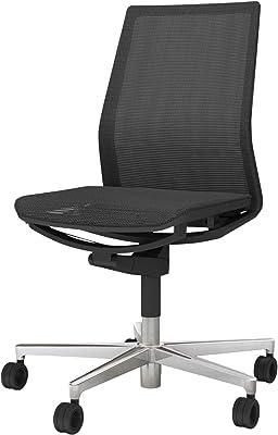 コクヨ ファブレ 椅子 ブラック プレーンタイプ デスクチェア 事務椅子 C01-P101MU-BE6E61 【ラクラク納品サービス】