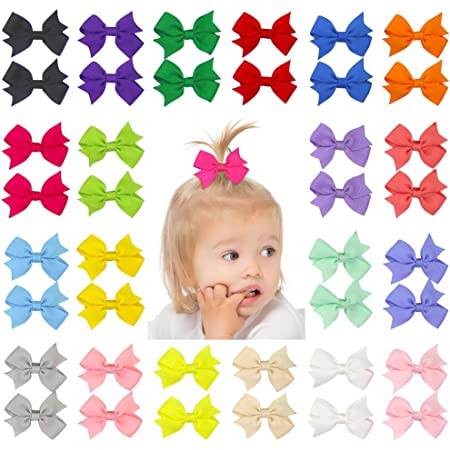 Details about  /Small Jelly Hair Bow Pretty Girls Hair Clip Cute Double Bow Great Color Stylish