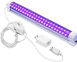 UV LED Black Light, LECIEL 10W UV Portable Blacklight for UV Poster, UV Art, Bedroom, Ultraviolet Light for Halloween and Blacklight Parties