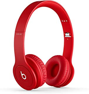 Beats Solo HD Wired On-Ear Headphone - Matte Red (Discontinued by Manufacturer)