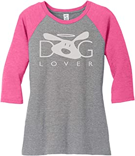 Dog Lover Women's Raglan T-Shirt - Great Gift for Dog Lovers - coolthings.us