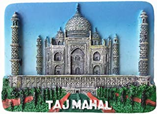 Taj Mahal Agra India Fridge Magnet Souvenir Gift Home & Kitchen Decoration Magnetic Sticker India Refrigerator Magnet Collection