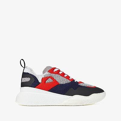 Stella McCartney Loop Knits Sneakers (White/Red/Blue) Men