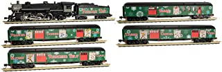 Micro-Trains MTL N-Scale Reindeer Belt Christmas Train Set Steam Loco/4 Cars