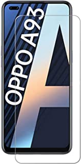 OPPO A93 5G Tempered Glass Screen Protector, Premium Quality Guard Film, Case Friendly, Comfortable Round Edge,Shatterproo...