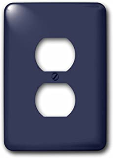 3dRose lsp_280013_6 Image of Patriot Dark Blue for Summer Plug Outlet Cover, Mixed