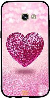 Samsung A5 2017 Case Cover Pink Glitter Heart, Moreau Laurent Premium Phone Covers & Cases Design