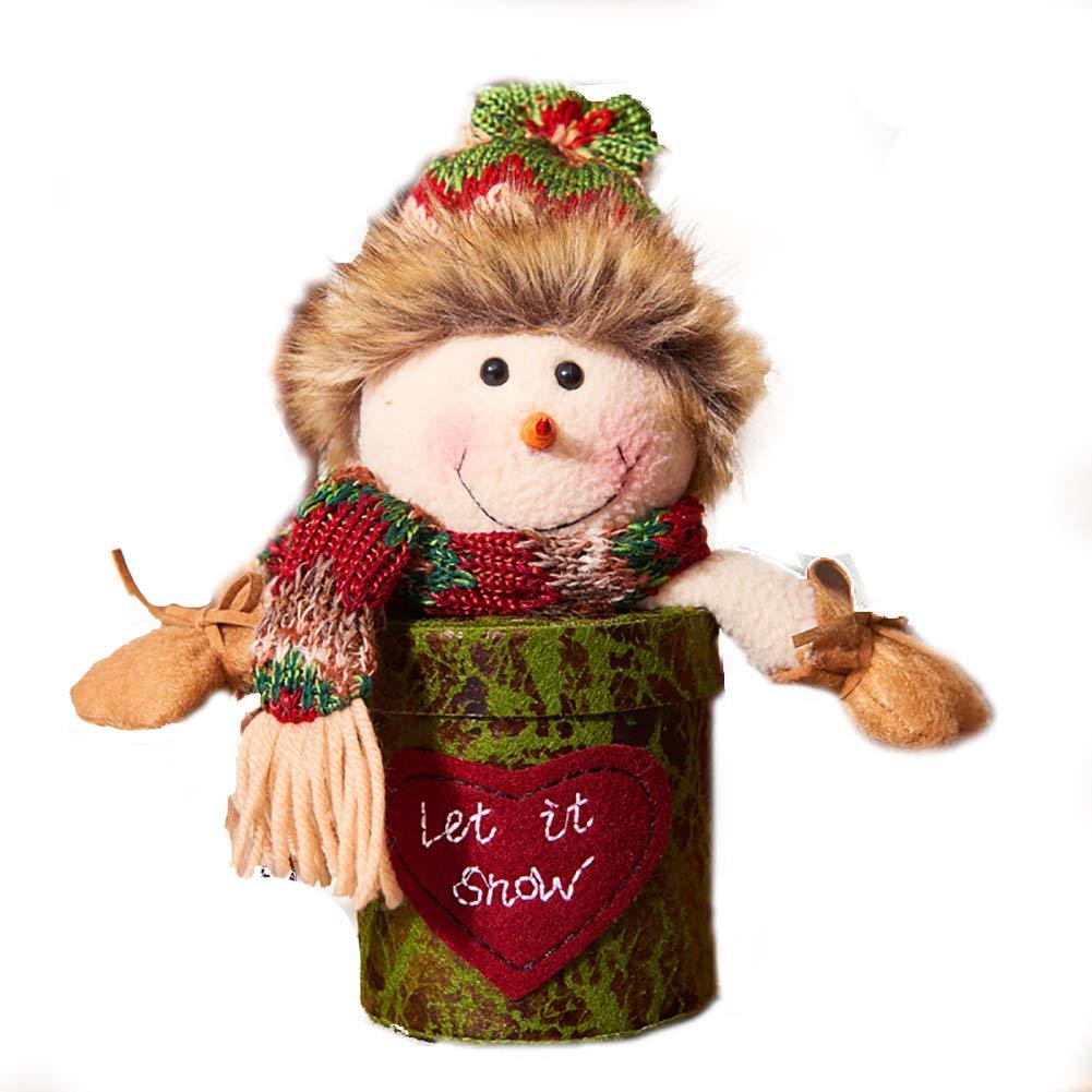 Dulces de Navidad de Apple Regalo Eva Caja de Embalaje Nuevos Modelos de Apple Caja del muñeco de Nieve: Amazon.es: Hogar