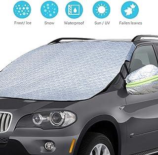 Auto Scheibenabdeckung Windschutzscheiben Windschutz Schneeschutz Universal